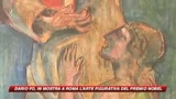 16/10/2008 - L'arte di Dario Fo in mostra a Roma