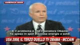 16/10/2008 - L'accusa di McCain ad Obama