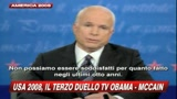 16/10/2008 - Obama-McCain: l'appello dei duellanti