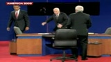 17/10/2008 - America 2008, Obama e McCain scherzano a cena  