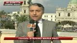 Pompei abbraccia Benedetto XVI