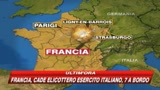 Francia, precipita elicottero con 7 militari a bordo 