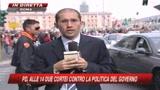 25/10/2008 - Il Pd in piazza, il giorno dell'opposizione