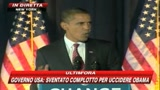 Sventato complotto per uccidere Barack Obama