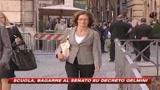 29/10/2008 - Scuola, bagarre al Senato sul decreto Gelmini