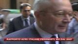 Rapporto Acri: italiani pessimisti, ma dal 2007