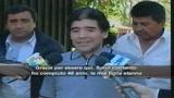 Maradona vuole stupire subito