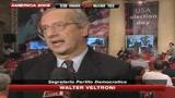 05/11/2008 - Vittoria Obama, Veltroni: tua vittoria può cambiare il mondo