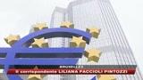 La Bce taglia di mezzo punto i tassi.  Borse europee a picco