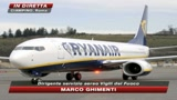 Atterraggio d'emergenza per volo Ryanair