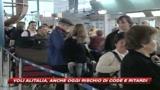 Alitalia, ultimi effetti dello sciopero: anche oggi previsti