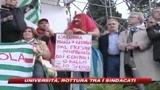 13/11/2008 - Sindacati divisi, Cgil  sciopero generale il 12 dicembre