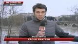 12/12/2008 - Roma allagata, Alemanno: Restate a casa