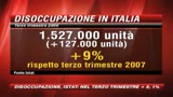 19/12/2008 - Istat, disoccupazione al  6,1 per cento nel terzo trimestre