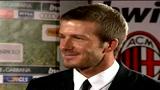 Ilaria D'Amico intervista David Beckham