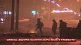 Grecia, il Natale non ferma la violenza: scontri ad Atene