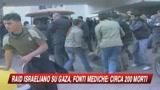 Israele bombarda Gaza: oltre 200 morti