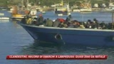 28/12/2008 - Lampedusa, quasi duemila i clandestini sbarcati da Natale