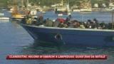 Lampedusa, quasi duemila i clandestini sbarcati da Natale