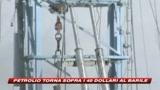 30/12/2008 - Il petrolio torna a salire e tocca i 40 dollari al barile