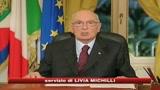 31/12/2008 - Napolitano: Dalla crisi esca un'Italia più giusta