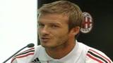 Milan, Beckham: Ho scelto il meglio