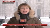 Epifania sotto le neve, Milano e Torino imbiancate