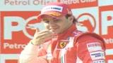 Massa sorpassa Raikkonen con la Rossa
