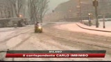 Neve, chiusi gli aeroporti di Malpensa e Fiumicino