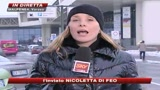 Milano sotto la neve, crolla tettoia: muore un 46enne