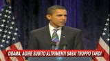 08/01/2009 - Crisi, Obama: Agire subito o rischio recessione per anni