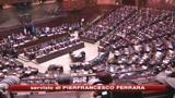 Piano anticrisi, oggi la fiducia. Polemica Berlusconi-Fini
