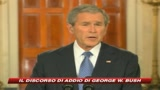 16/01/2009 - L'addio di Bush, Lascio un'America pi sicura