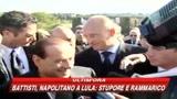 Berlusconi: con Fini va tutto bene, giornali esagerano