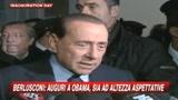 20/01/2009 - Obama, Berlusconi: Sia all'altezza delle attese
