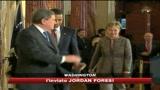 23/01/2009 - Crisi, vertice tra presidente Obama e staff economico