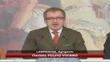 Lampedusa, tensione e tafferugli davanti Cpa