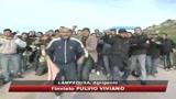 Lampedusa, immigrati e residenti uniti nella protesta