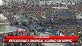 Il Papa, messaggio per la pace insieme a bimba eritrea