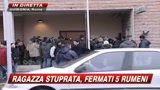 27/01/2009 - Guidonia, presi gli stupratori: sono 4 rumeni