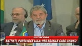 Battisti, portavoce Lula: Per Brasile caso chiuso