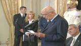 Napolitano: colmare il vuoto sul testamento biologico