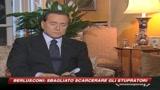 Stupri, Berlusconi: un errore liberare i colpevoli