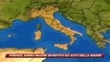 Firenze, bimbo muore schiacciato dall'auto della mamma