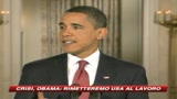 10/02/2009 - Obama: Rimetteremo al lavoro l'America