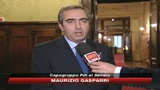 Gasparri a SKY TG24, chiedo scusa ma credo a mie idee