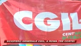 13/02/2009 - Cgil in piazza contro il governo: tre cortei a Roma