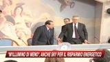13/02/2009 - Berlusconi preoccupato: Crisi dai contorni indefiniti