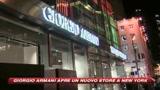 Giorgio Armani sbarca sulla Fifth Avenue