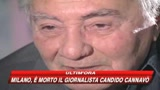 Milano, è morto Candido Cannavò